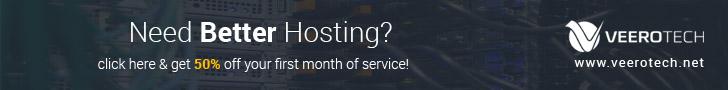 50% off web hosting deal